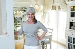 Interior designer Karen Hall