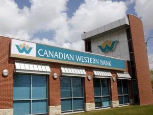 Canadian Western Bank branch in Calgary, Alberta June 9, 2009. Alternative mortgage lenders to the country's big six banks may benefit from new CMHC restrictions