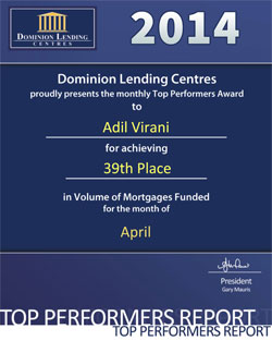 Congratulations Adil Virani!